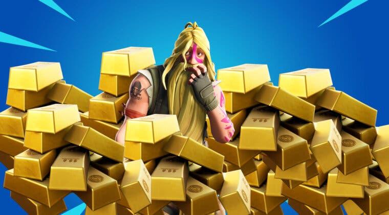 Imagen de Fortnite: descubre este nuevo truco para conseguir barras de oro infinitas
