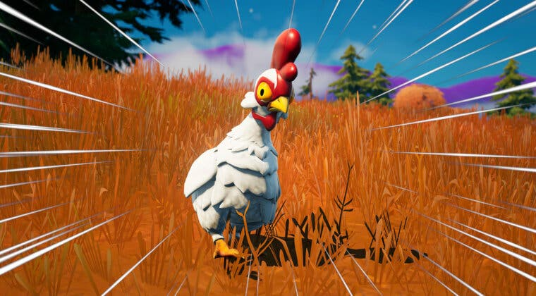 Imagen de Fortnite: cómo cruzar el mapa volando gracias a las nuevas gallinas