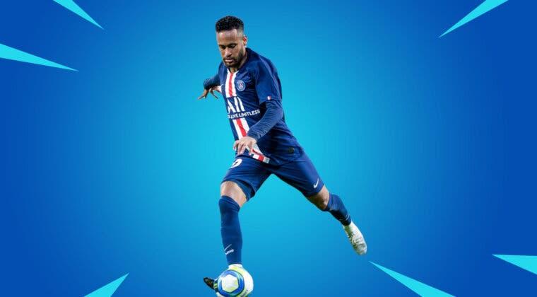 Imagen de Fortnite revela la nueva skin oficial de Neymar y todos sus estilos de la Temporada 6