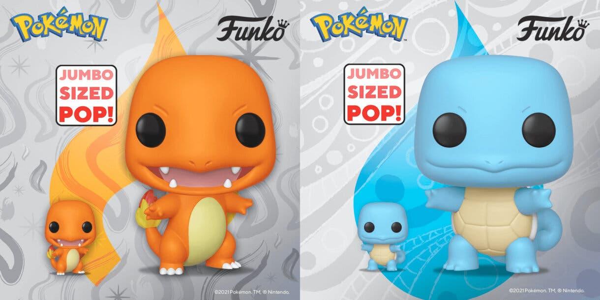 Funko POP Charmander y Squirtle Pokemon