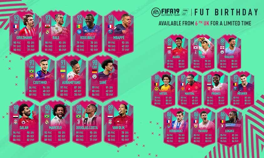 FIFA 21 Ultimate Team FUT Birthday qué podemos esperar equipo FIFA 19