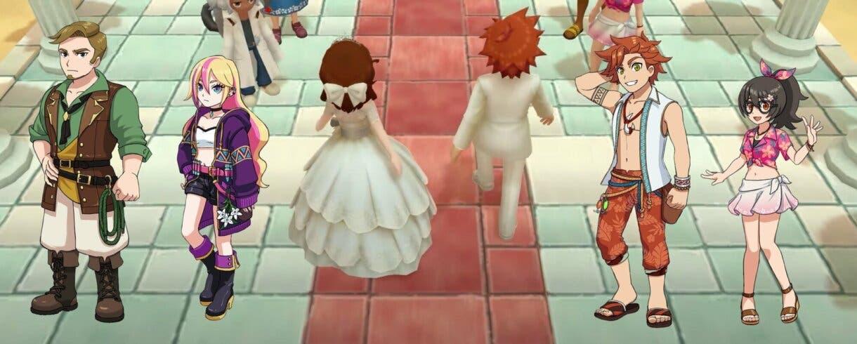 Harvest Moon Un Mundo Unico boda 1