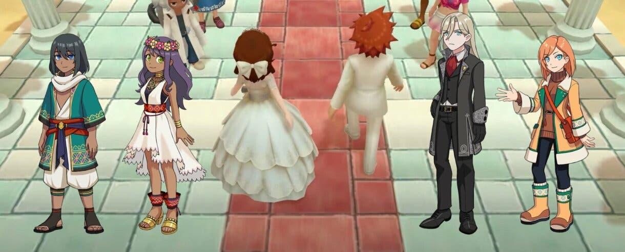 Harvest Moon Un Mundo Unico boda 2