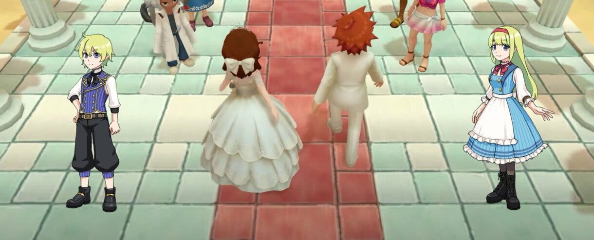 Harvest Moon Un Mundo Unico boda 3