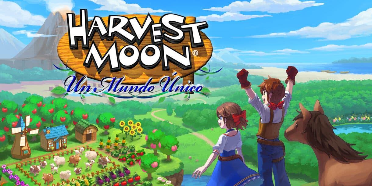 Harvest Moon Un Mundo Unico Switch