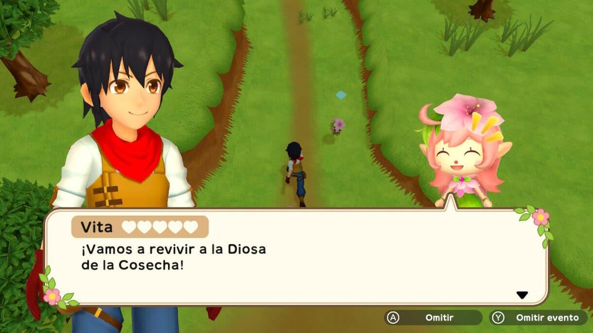 Harvest Moon Un Mundo Unico Vita