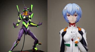 Imagen de Evangelion: Ya puedes reservar una figura de Rei a escala 1:1 y un EVA-01 de más de dos metros