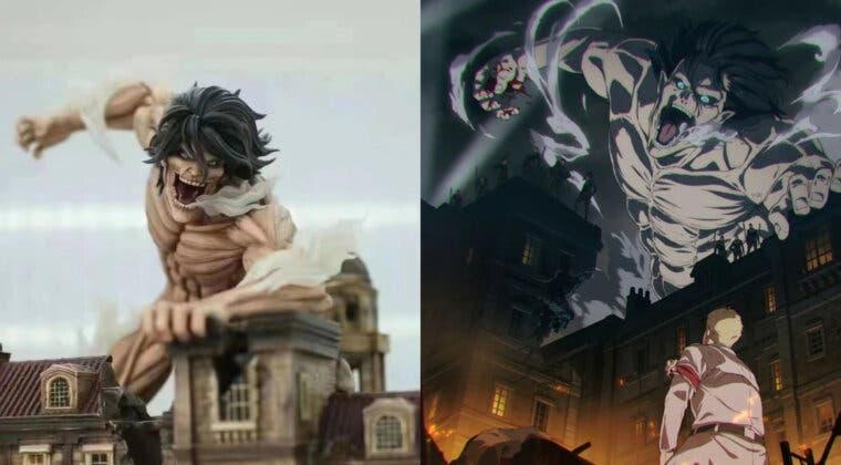 Imagen de Shingeki no Kyojin: Así es la increíble figura del asalto de Eren por casi 500 dólares