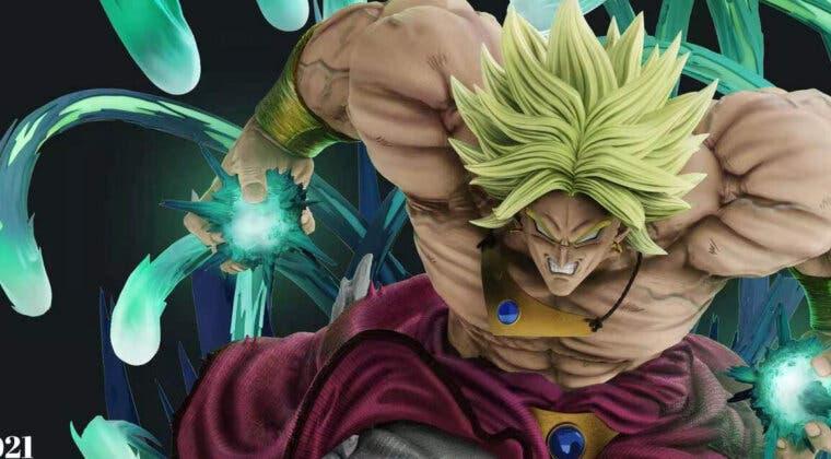 Imagen de Dragon Ball Z: No te pierdas esta figura del Broly clásico por más de 800 dólares