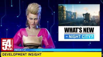 Imagen de Cyberpunk 2077 anuncia las principales novedades de la actualización 1.2