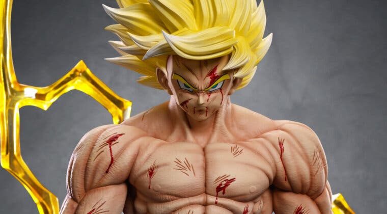 Imagen de Dragon Ball Z: El Goku Super Saiyan de Namek ya tiene su nueva figura de coleccionista