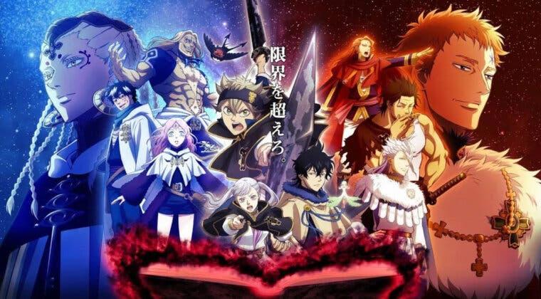 Imagen de Black Clover anuncia que tendrá una película de anime