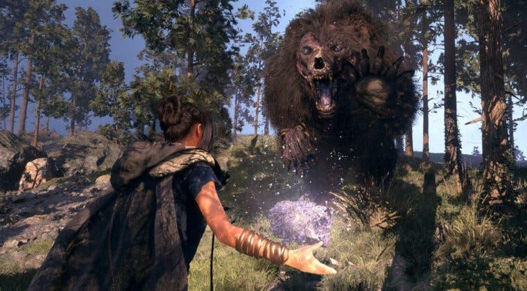 Imagen de Forspoken muestra nuevo gameplay en un tráiler extendido