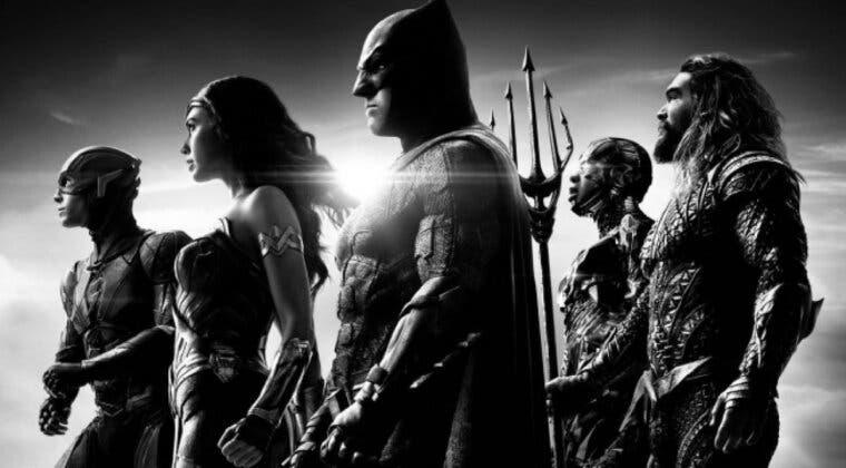 Imagen de La versión en blanco y negro de Liga de la Justicia (Snyder cut) llegará a HBO Max