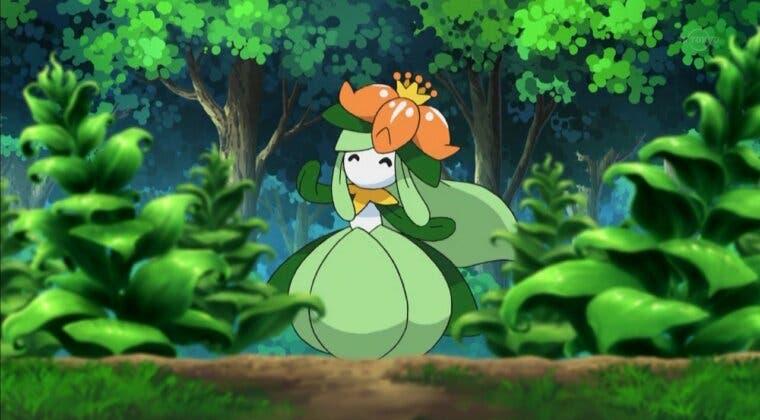 Imagen de Pokémon Espada y Escudo nos traen a Lilligant shiny este fin de semana