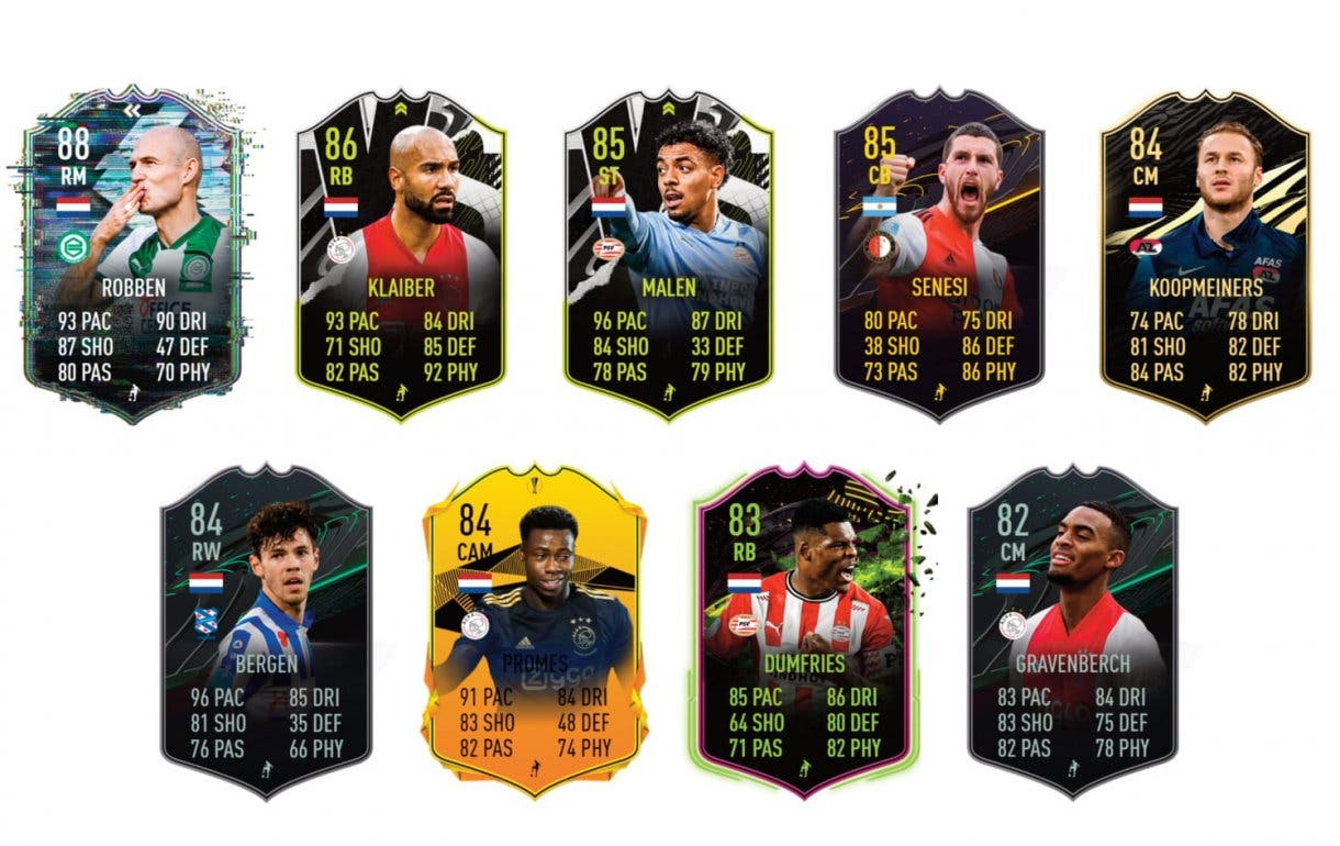 FIFA 21 Ultimate Team Leroy Fer What If links verdes