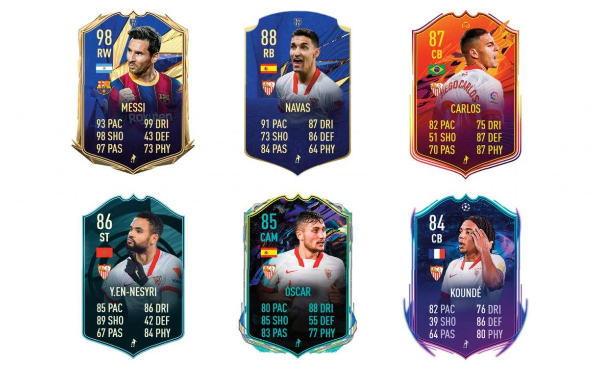 "FIFA 21 Ultimate Team Alejandro ""Papu"" Gómez What If links verdes"