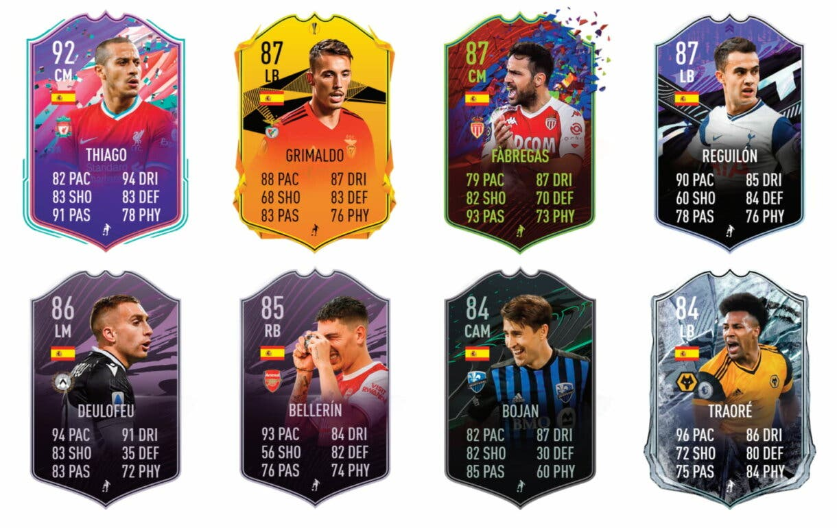 FIFA 21 Ultimate Team Mario Hermoso FUT Birthday links naranjas