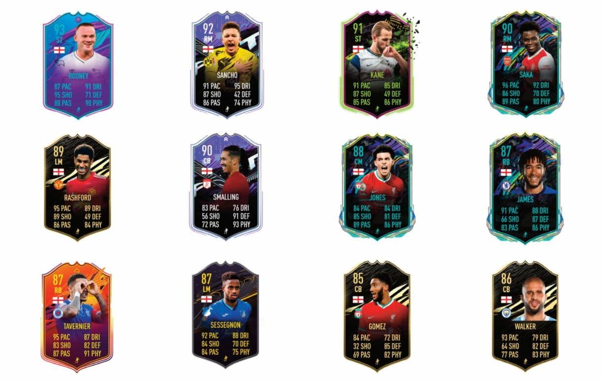 FIFA 21 Ultimate Team Ian Wright Moments review SBC Icono links verdes Inglaterra.