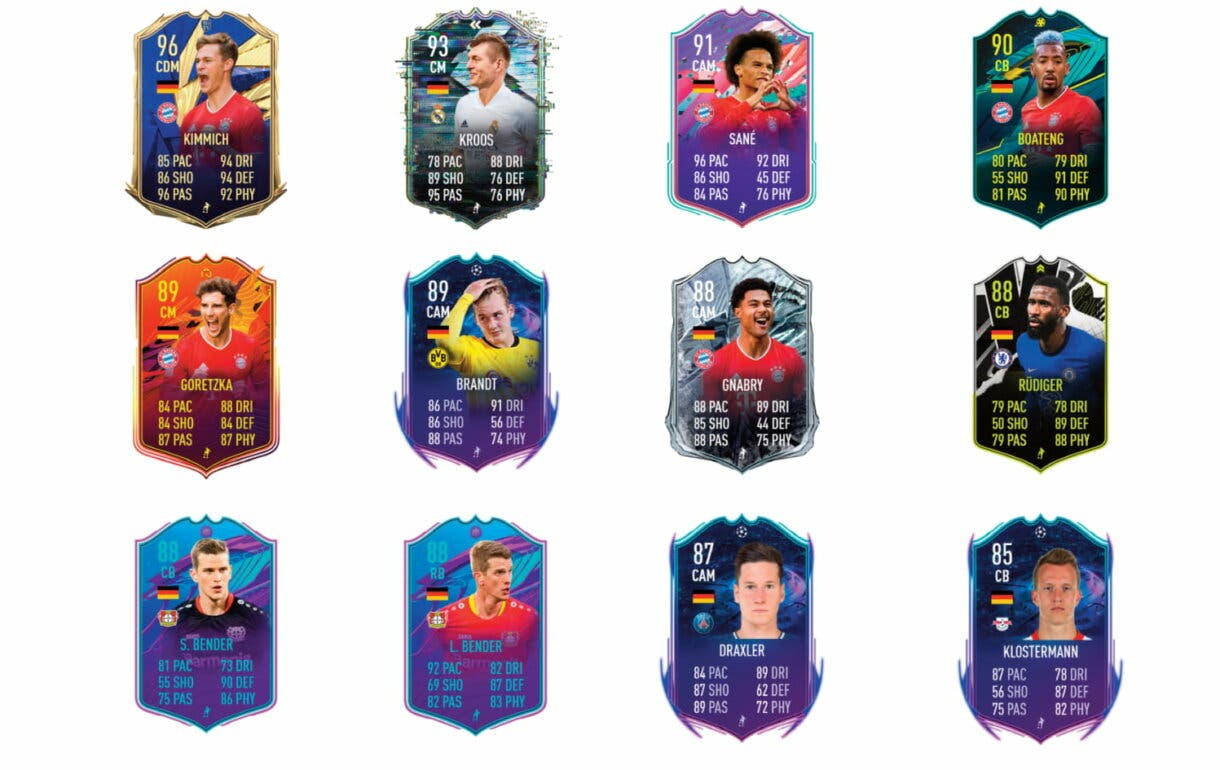 FIFA 21 Ultimate Team Mesut Özil FUT Birthday links naranjas