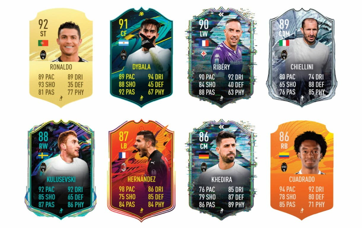 FIFA 21 Ultimate Team Adrien Rabiot Moments links verdes