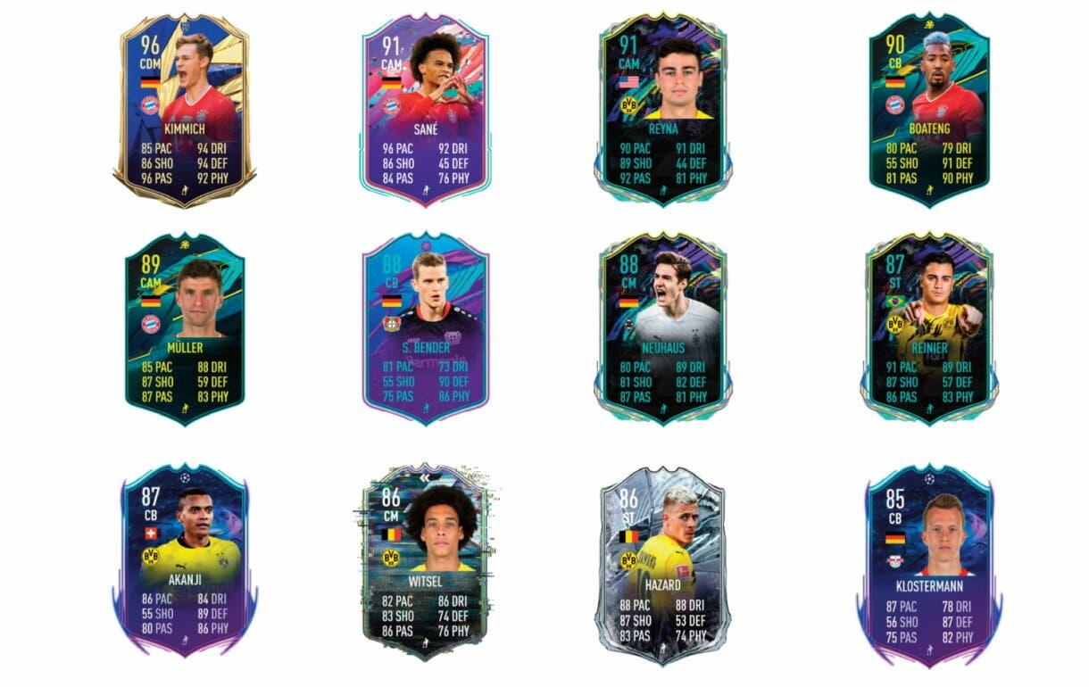 FIFA 21 Ultimate Team Marco Reus FUT Birthday links verdes