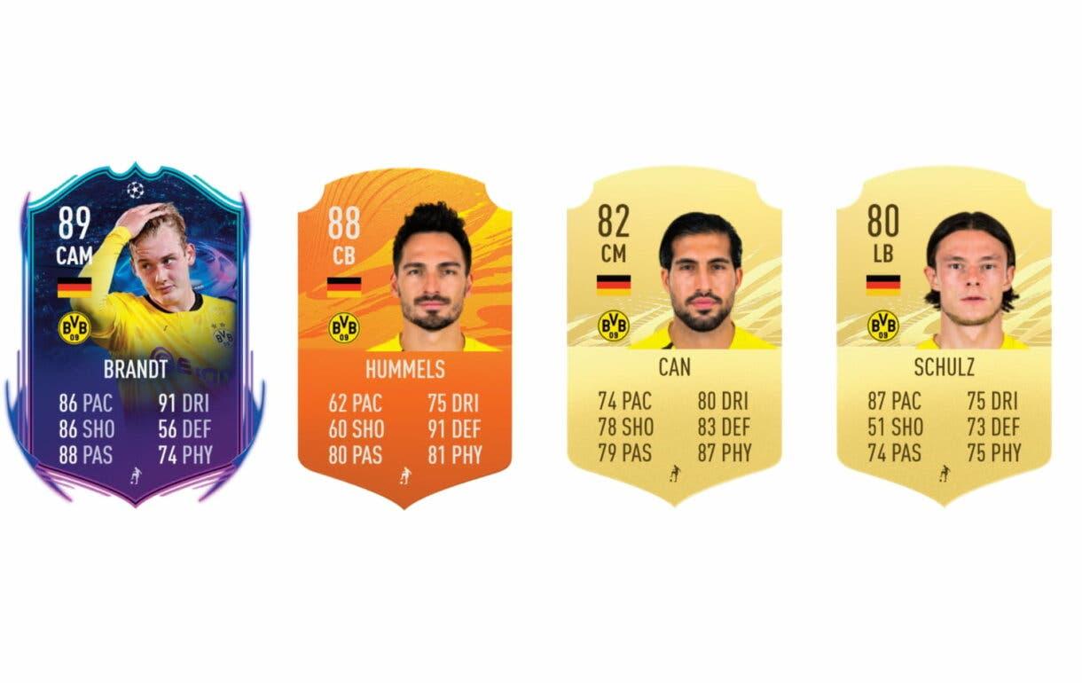 FIFA 21 Ultimate Team Marco Reus FUT Birthday links perfectos