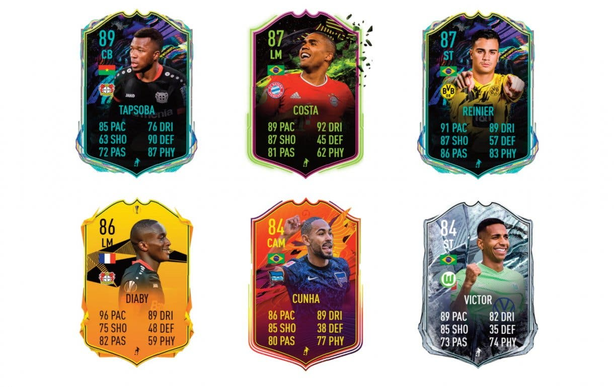 FIFA 21 Ultimate Team Wendell What If links verdes