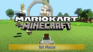 Imagen de ¿Un circuito de Minecraft en Mario Kart 8? Este increíble trabajo de un fan te dejará boquiabierto