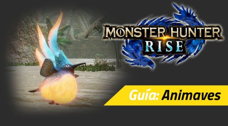 Imagen de Guía Monster Hunter Rise - Qué son las animaves y para qué sirven (y más fauna local)