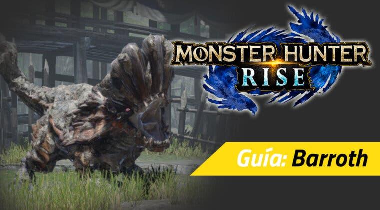 Imagen de Guía Monster Hunter Rise - Cómo cazar al Barroth: debilidades, movimientos y más