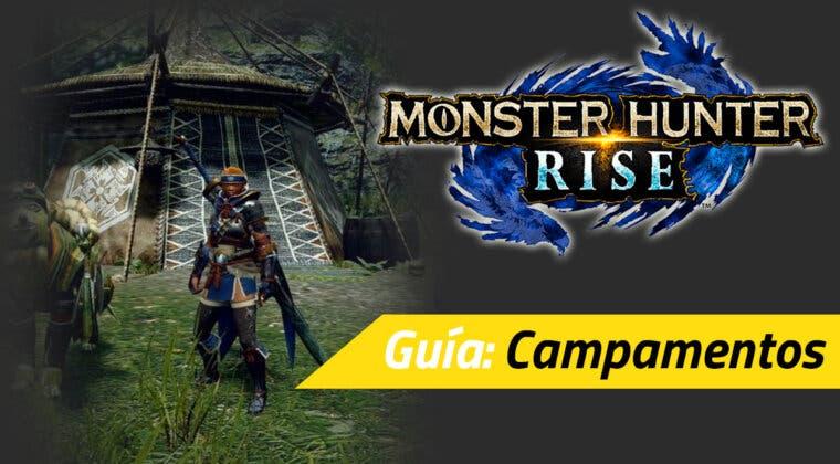 Imagen de Guía Monster Hunter Rise - Cómo desbloquear los viajes rápidos y campamentos