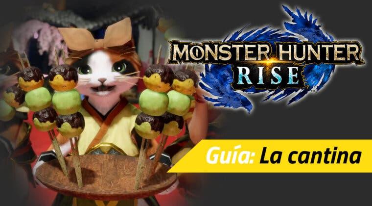 Imagen de Guía Monster Hunter Rise - Qué es la cantina y para qué sirven los dango