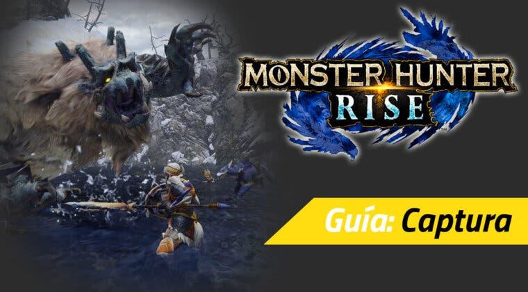 Imagen de Guía Monster Hunter Rise - Cómo capturar monstruos sin abatirlos