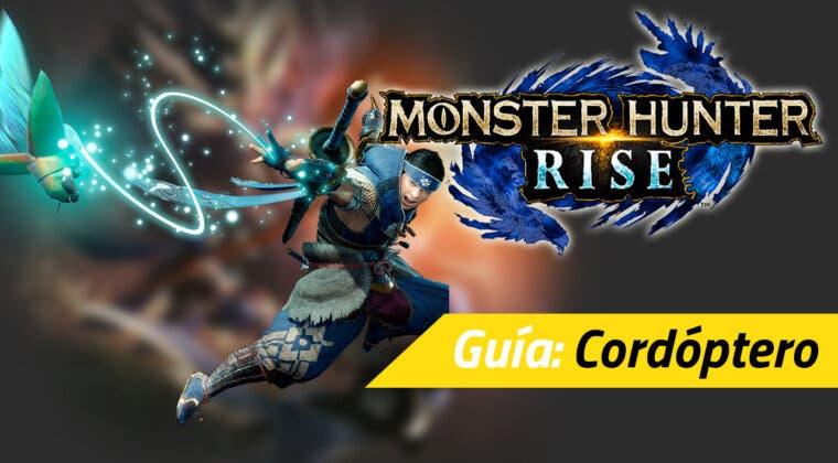 Imagen de Guía Monster Hunter Rise - Todo sobre el cordóptero: qué es, movimientos y trucos