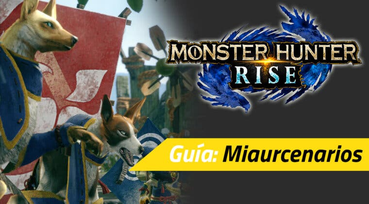 Imagen de Guía Monster Hunter Rise - Qué son los miaurcenarios y para qué sirven
