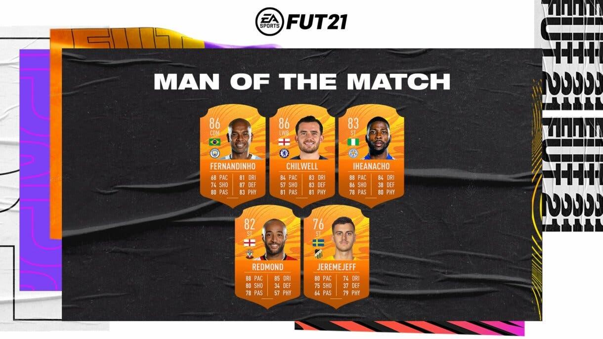 FIFA 21 Ultimate Team nuevos MOTM.