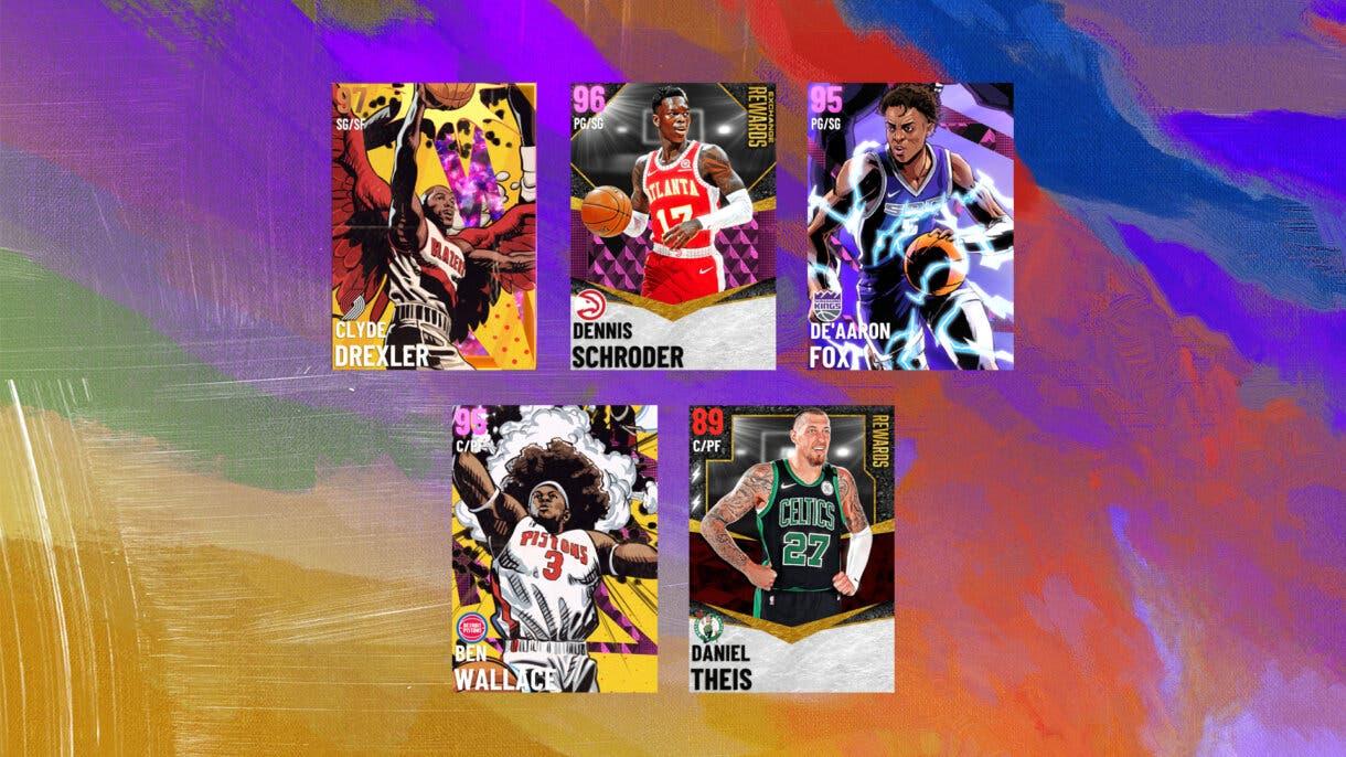NBA 2K21 Mi EQUIPO Temporada 5 Era de Héroes Semana 5