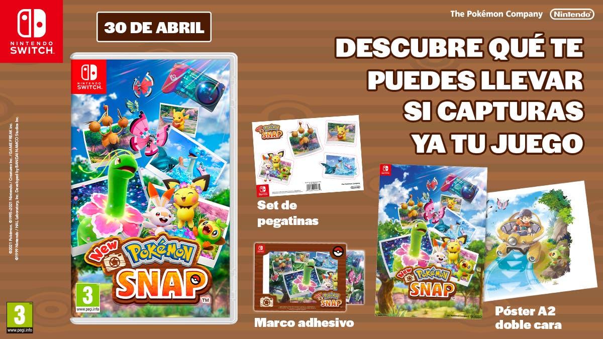 New Pokemon Snap regalos reserva