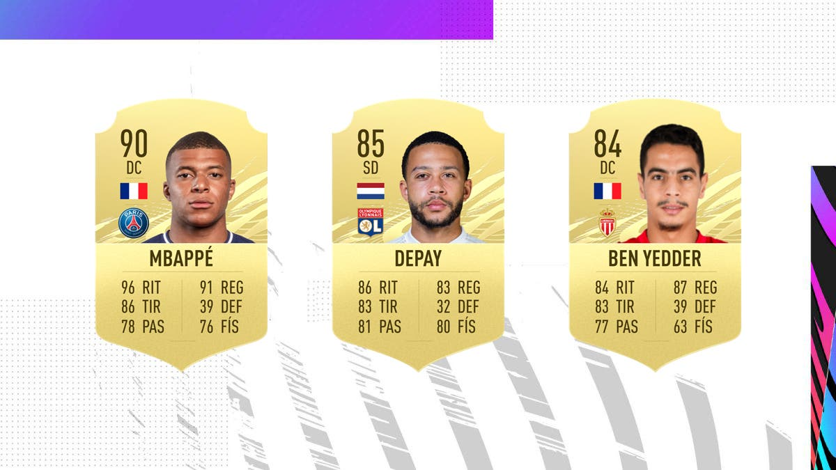 FIFA 21 Ultimate Team Nominados POTM Febrero Ligue 1