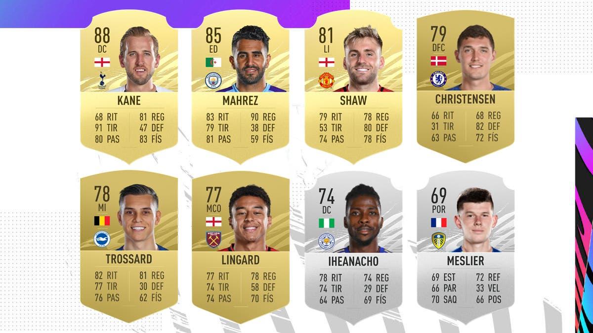FIFA 21 Ultimate Team Nominados POTM Marzo Premier League