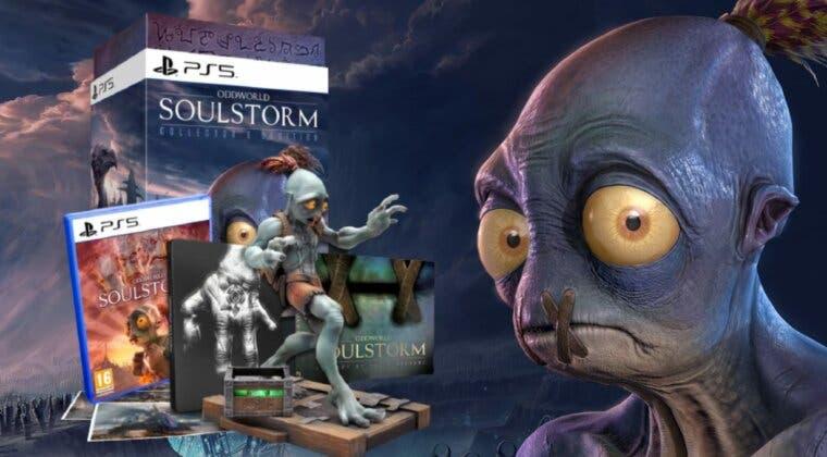 Imagen de Así son las espectaculares ediciones físicas de Oddworld: Soulstorm en PS4 y PS5