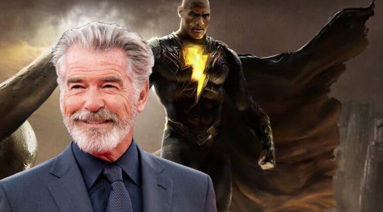 Imagen de Black Adam ficha a Pierce Brosnan para dar vida a este personaje