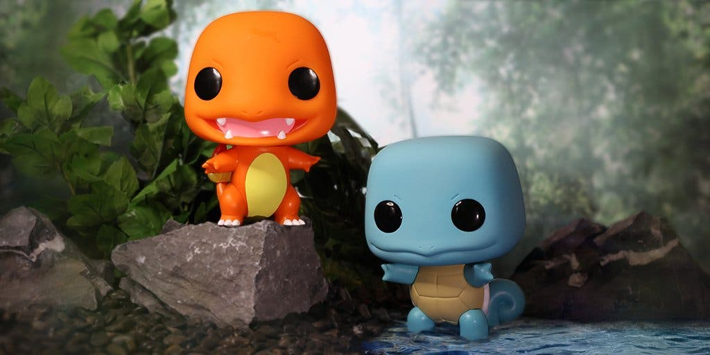 Pokemon Charmander Squirtle Funko POP