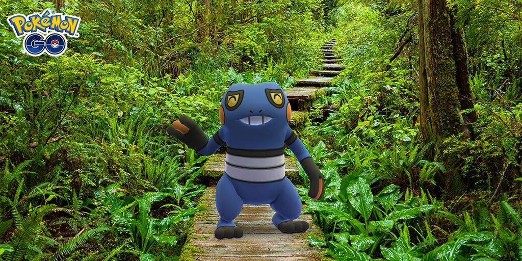 Pokemon GO Croagunk Dia de las Bromas