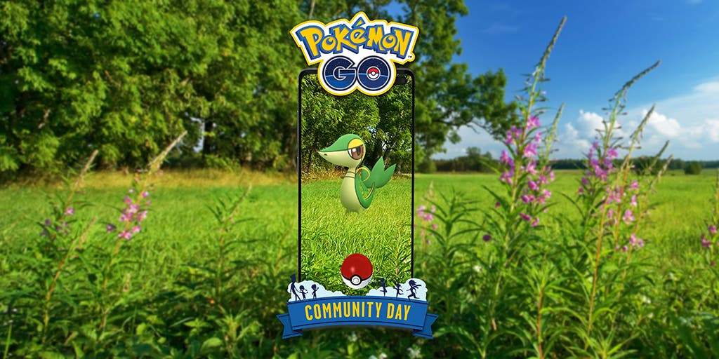 Pokemon GO Dia de la Comunidad Snivy