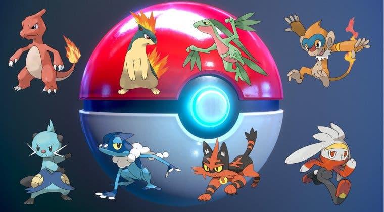 Imagen de Vota por la mejor primera evolución de un Pokémon inicial de la historia de la saga