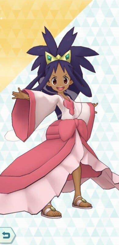 Pokemon Masters EX Iris Campeona
