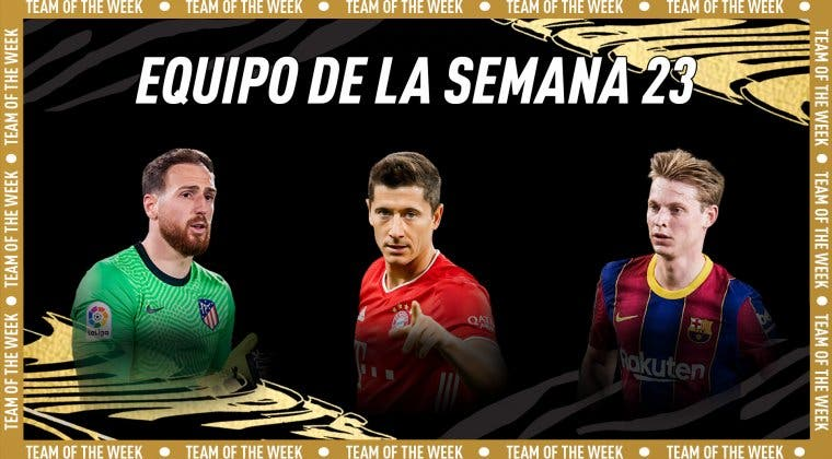 Imagen de FIFA 21: De Jong, Oblak y Lewandowski destacan en el TOTW 23 + Weah What If free to play