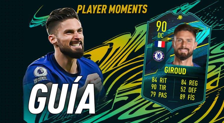 Imagen de FIFA 21: guía para conseguir a Olivier Giroud Moments a la par que otras cartas free to play que están a punto de expirar
